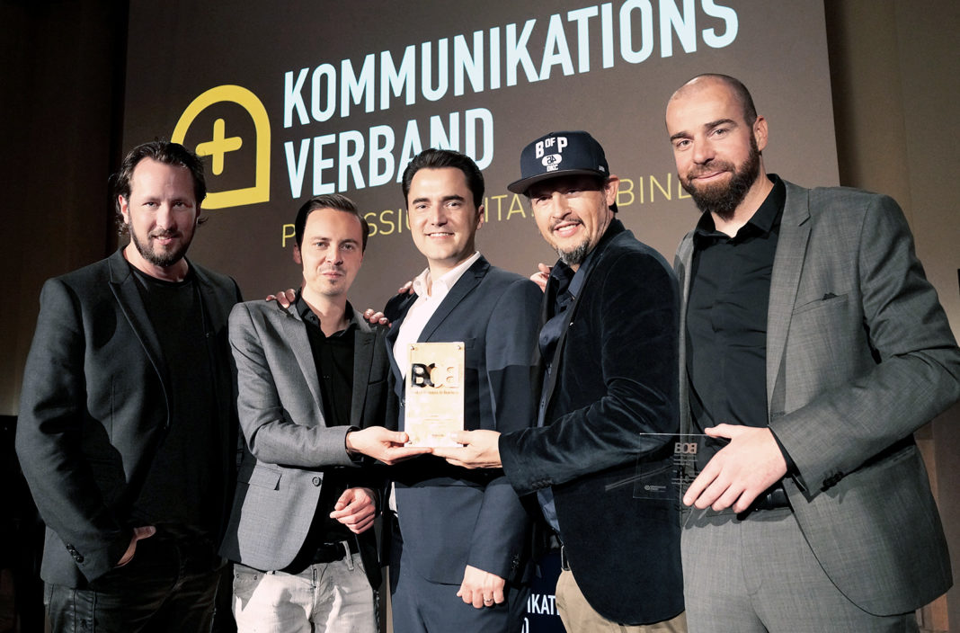 "News vom 27.04.2017: ""Best of Business-to-Business"" Award trend factory und ZWEI14"